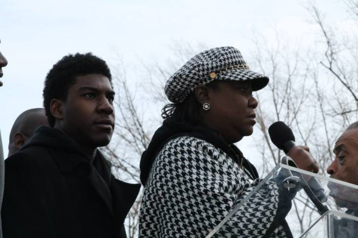 Trayvon Martin brother and Mother