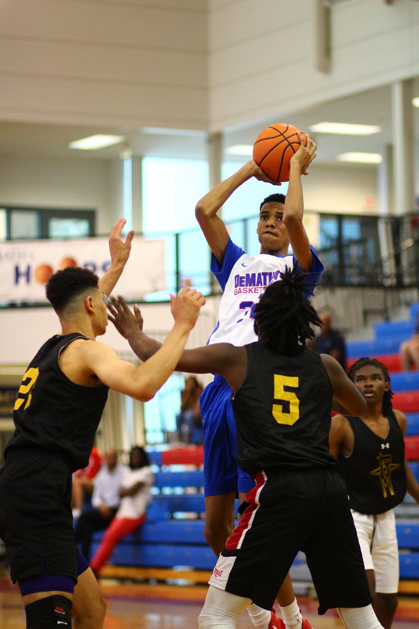 DEPLETED DEMATHA TEAM FALLS TO RICHARD MONTGOMERY