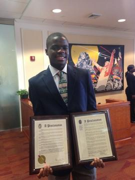 Francis Tiafoe Honored for Making Tennis History