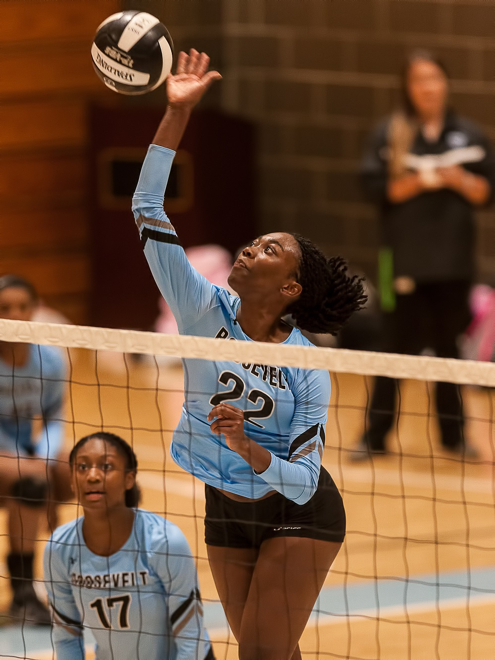 ROOSEVELT VOLLEYBALL REMAINS UNDEFEATED WITH WIN OVER BOWIE